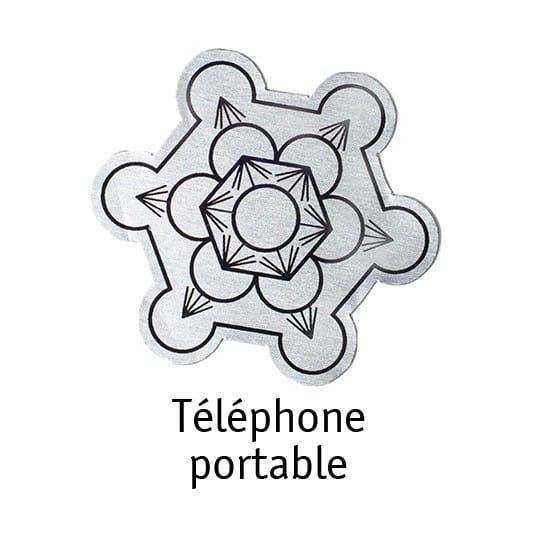 Puce Anti ondes IBL téléphone portable